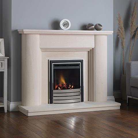 limestone fire surround