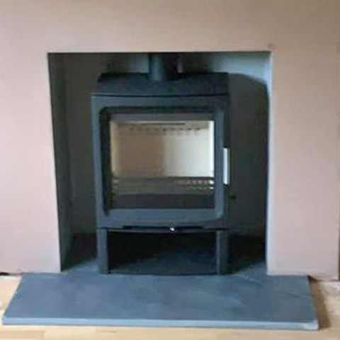 Charlton and jenrick PV5W slimline with low log store