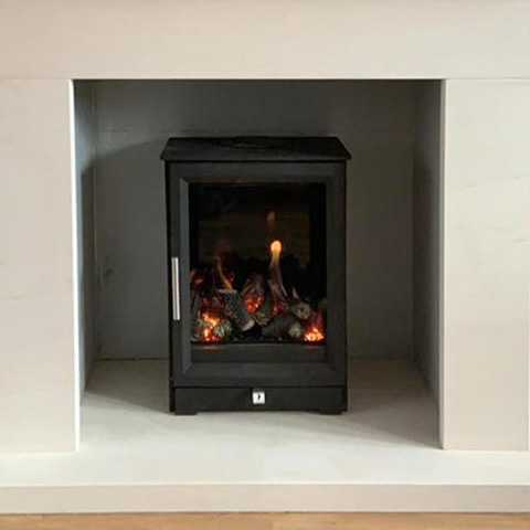 aragon core CF fitted in beckford limestone surround