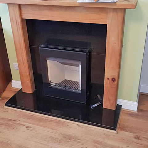 Fireline inset stove from Charlton and jenrick