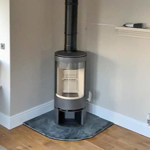 PVR cylinder stove from Charlton and jenrick